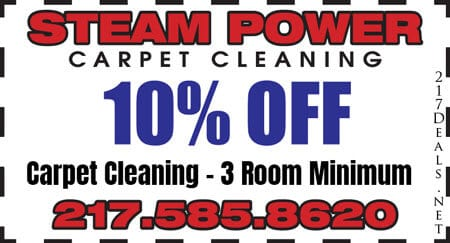 carpet cleaning coupon springfield il