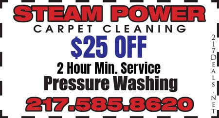 power washing springfield il
